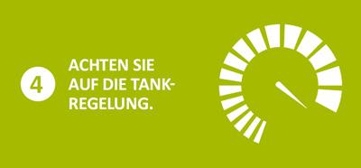 Tankregelung