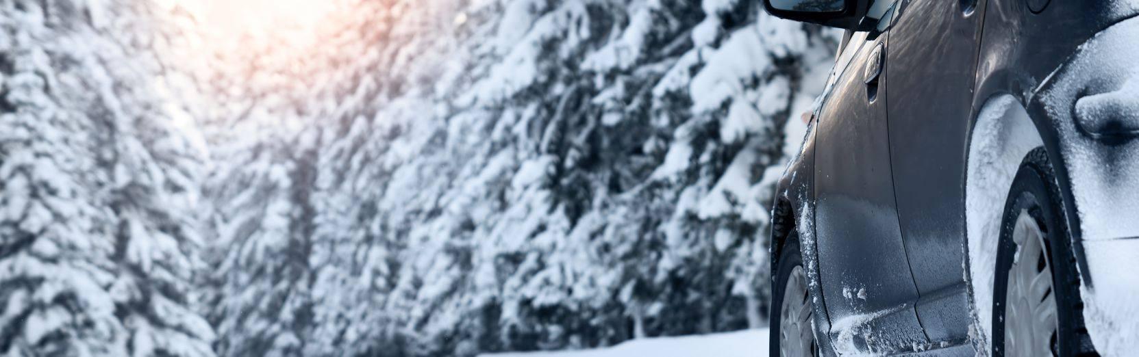 Winterreifen für den Mietwagen