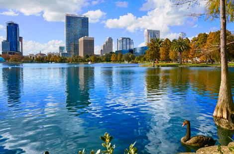 Lake Eola Park in Orlando