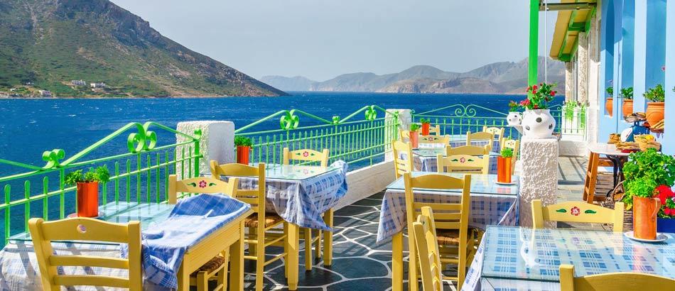 Speisen wie die Götter in Griechenland