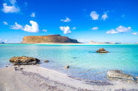 Balos-Lagune auf Kreta