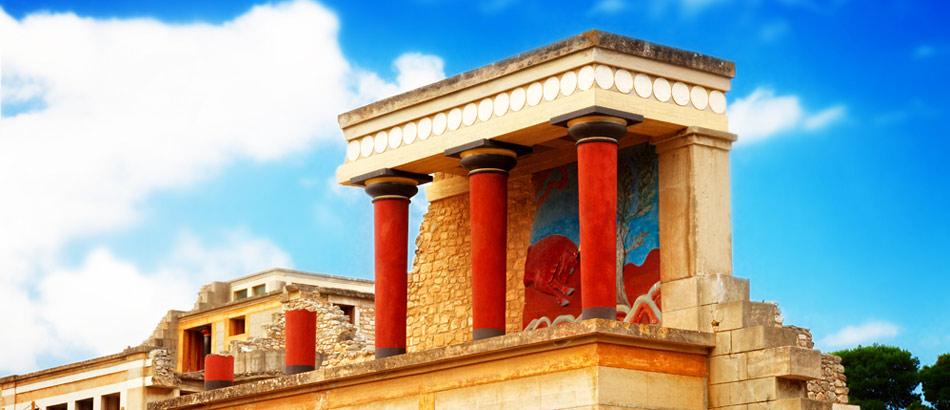 Palast von Knossós auf Kreta