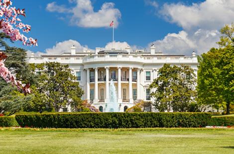 Das Weiße Haus in Washington D. C.