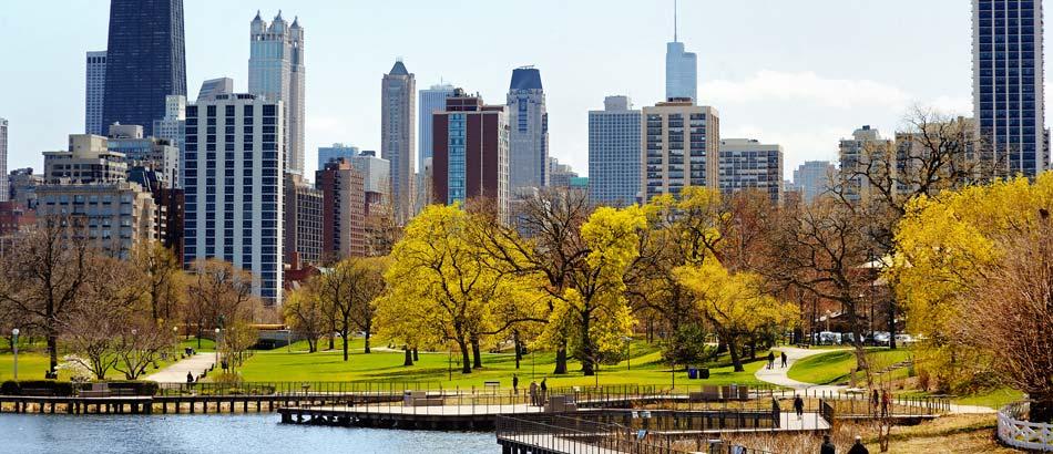 Chicagos atemberaubende Skyline