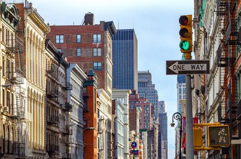 Hochhäuser in Manhattan