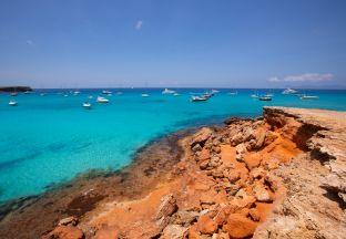Cala Saona Beach Formentara