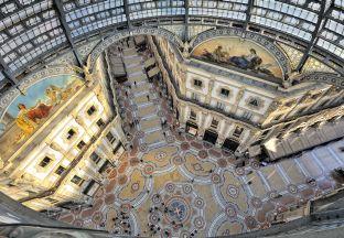 Galleria Vittorio Emanuele Mailand Malpensa Flughafen
