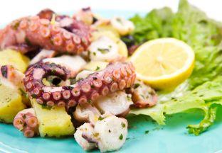 gedünstete Meeresfrüchte Elba