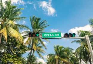 Ocean Drive Miami Flughafen