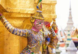 Statue Bangkok Flughafen